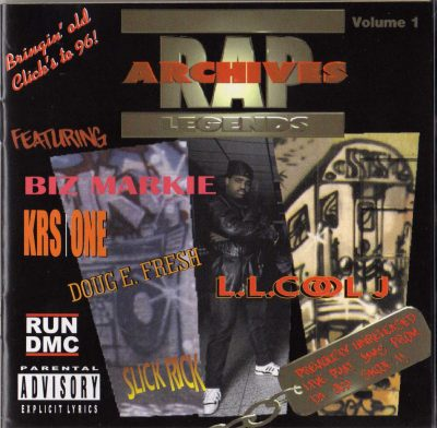 Various Artists – Rap Archives Legends, Vol. 1 (1996) (CD) (FLAC + 320 kbps)