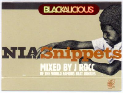 Blackalicious – NIA Snippets: Mixed By J-Rocc (Cassette) (1999) (FLAC + 320 kbps)