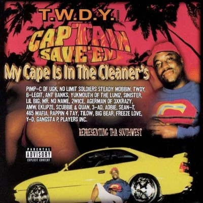 Captain Save 'Em - My Cape Is In The Cleaners