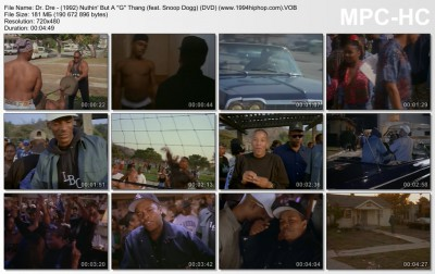 Dr. Dre - (1992) Nuthin' But A ''G'' Thang (feat. Snoop Dogg) (DVD) (www.1994hiphop.com)