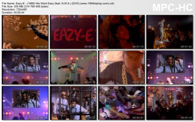Eazy-E - (1988) We Want Eazy (feat. N.W.A.) (DVD) (www.1994hiphop.com)