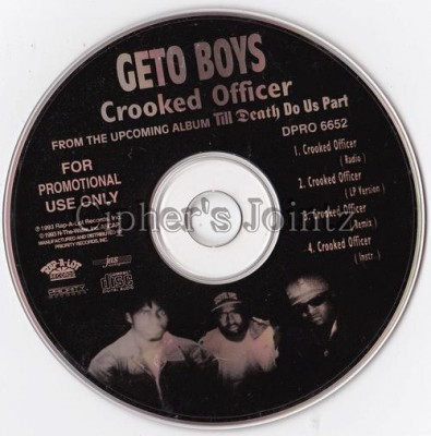 Geto Boys - Crooked Officer