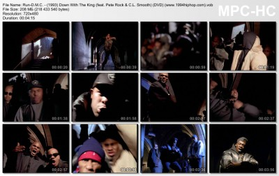 Run-D.M.C. - (1993) Down With The King (feat. Pete Rock & C.L. Smooth) (DVD) (www.1994hiphop.com)