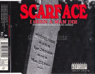 Scarface – I Seen A Man Die (UK CDS) (1995) (FLAC + 320 kbps)