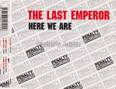 The Last Emperor – Here We Are (CDS) (2003) (320 kbps)
