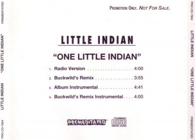 Little Indian – One Little Indian (Promo CDS) (1995) (320 kbps)