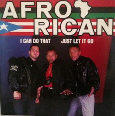 Afro-Rican - I Can Do That -bw- Let It Go