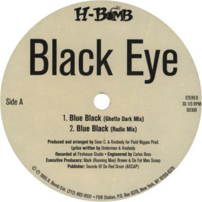 Black Eye - Blue Black