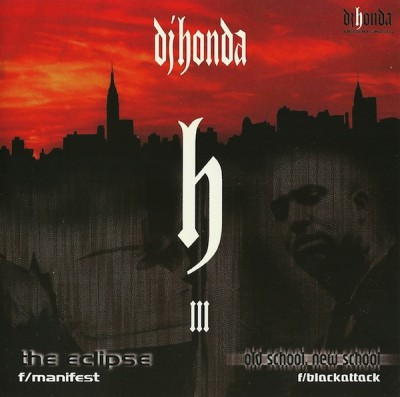 DJ Honda - The Eclipse -bw- Old School, New School