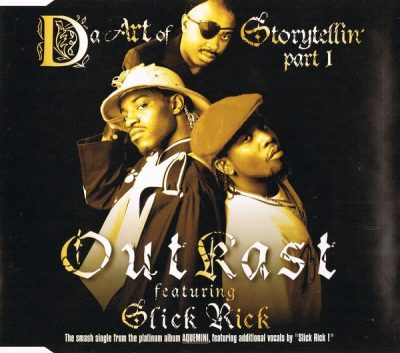 OutKast – Da Art Of Storytellin' (Part 1) (CDS) (1998) (FLAC + 320 kbps)