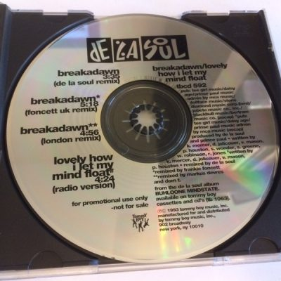 De La Soul ‎– Breakadawn / Lovely How I Let My Mind Float (Promo CDS) (1993) (320 kbps)