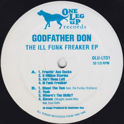 Godfather Don - The Ill Funk Freaker EP (2009)