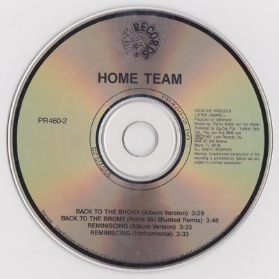 Hime Team - Back To The Bronx