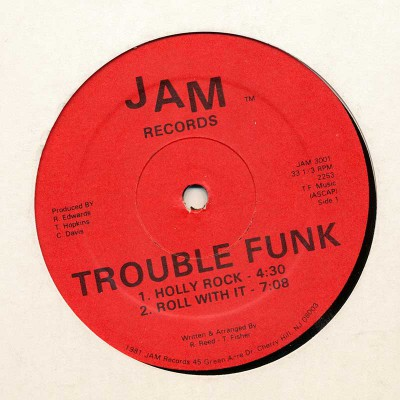 Trouble Funk – Holly Rock / Pump Me Up (VLS) (1981) (FLAC + 320 kbps)
