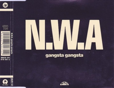 N.W.A – Gangsta Gangsta (UK CDS) (1988) (320 kbps)