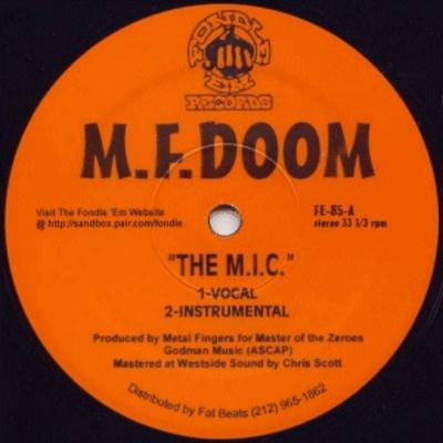 MF DOOM – The M.I.C. / Red & Gold (VLS) (1998) (FLAC + 320 kbps)