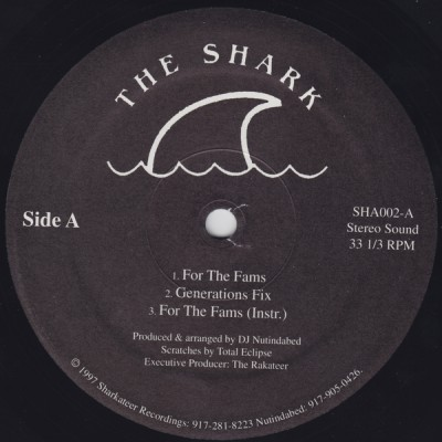 The Shark – For The Fams / Generations Fix / Grand Design (VLS) (1997) (FLAC + 320 kbps)