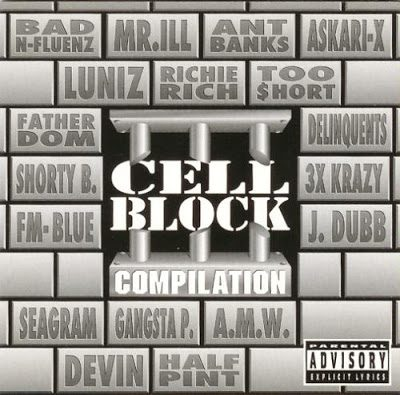 VA – Cell Block Compilation (CD) (1996) (FLAC + 320 kbps)