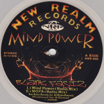 Blank Fasiz - Mind Power EP