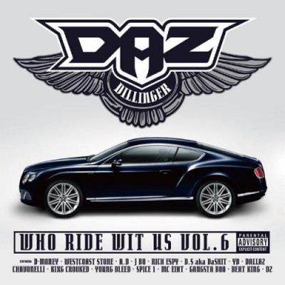 Daz-Dillinger-Who-Ride-Wit-Us-Vol.-6-Album