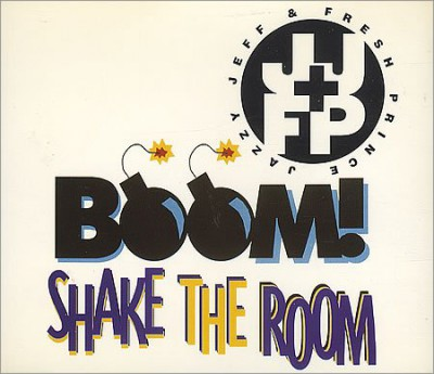 Jazzy Jeff & The Fresh Prince - Boom! Shake The Room (CDS)