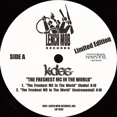 K-Dee – The Freshest MC In The World (VLS) (1994) (FLAC + 320 kbps)