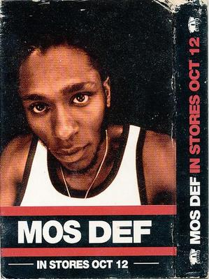 Mos Def - In Stores Oct 12