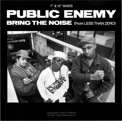 Public Enemy – Bring The Noise (CDS) (1988) (FLAC + 320 kbps)