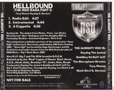 The Almighty RSO - Hellbound