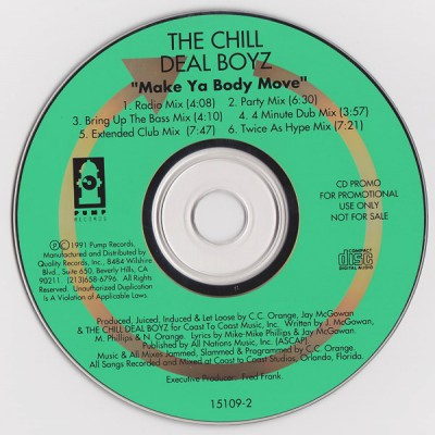 The Chill Deal Boyz - Make Ya Body Move