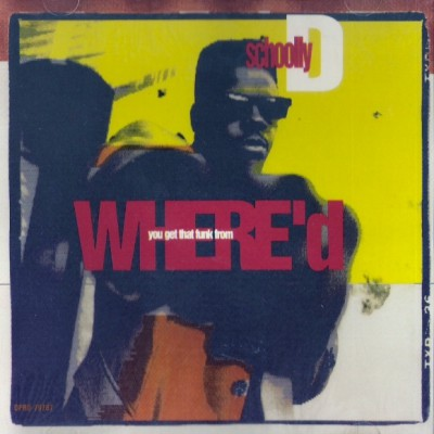 Schoolly D – Where'd You Get That Funk From (CDS) (1991) (320 kbps)