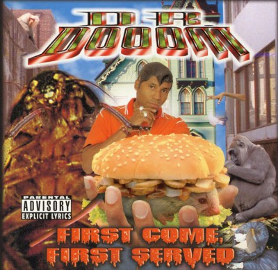 Dr Dooom - First Come First Served Front