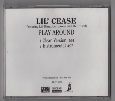 Lil Cease - Play Around (Back)