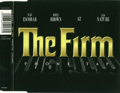 The Firm - Phone Tap [Promo CD Single] (1998)--Cover