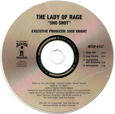 The Lady Of Rage - Sho Shot (CD)