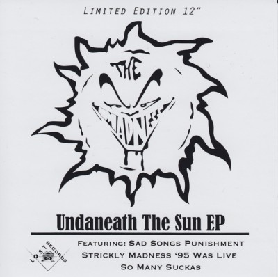 The Madness – Undaneath The Sun EP (Vinyl) (2013) (FLAC + 320 kbps)