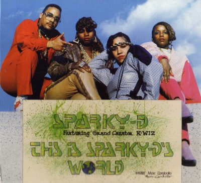 Sparky-D – This Is Sparky-D's World (1988-2011) (CD) (FLAC + 320 kbps)