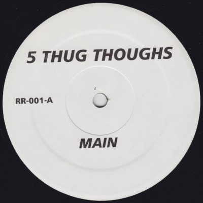 Illa Gee / DJ Clear, O.C. & Poops – 5 Thug Thoughts / The Intro (Promo VLS) (1996) (FLAC + 320 kbps)