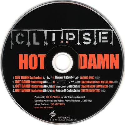 Clipse – Hot Damn (Promo CDS) (2003) (FLAC + 320 kbps)