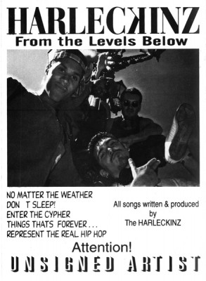 Harleckinz – From The Levels Below EP (Vinyl) (1995) (FLAC + 320 kbps)
