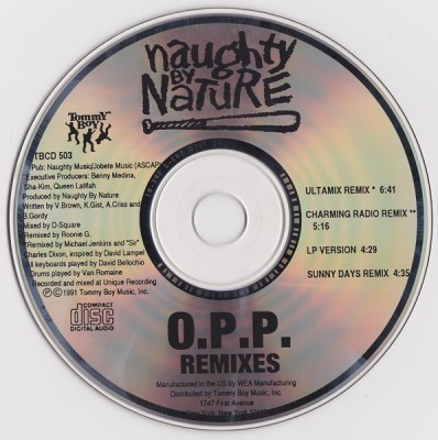 Naughty By Nature – O.P.P. (Remixes) (Promo CDS) (1991) (320 kbps)