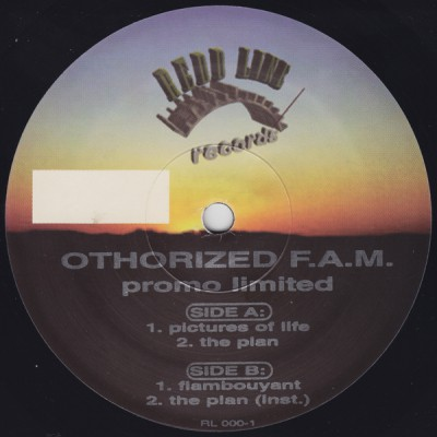 Othorized F.A.M. – Pictures Of Life / The Plan / Flambouyant (VLS) (1995) (FLAC + 320 kbps)