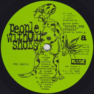 People Without Shoes – Escape The Streets EP (Vinyl) (1996) (FLAC + 320 kbps)