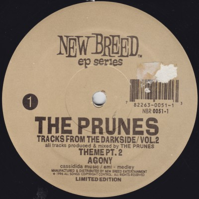 The Prunes – Tracks From The Darkside, Volume 02 EP (Vinyl) (1996) (FLAC + 320 kbps)