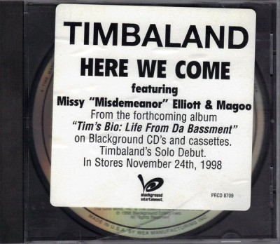 Timbaland – Here We Come (Promo CDM) (1998) (320 kbps)