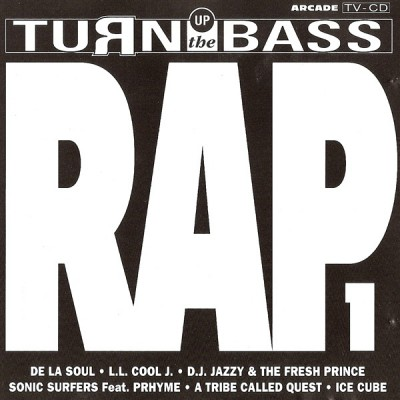Turn Up The Bass Rap vol. 1 front