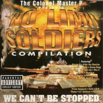 Various Artists - No Limit Soldiers Compilation  We Can't Be Stopped