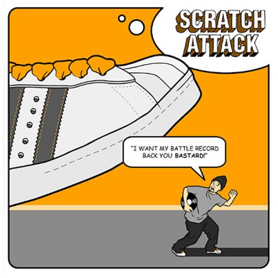 VA – Scratch Attack: I Want My Battle Record Back You Bastard! (CD) (2002) (FLAC + 320 kbps)