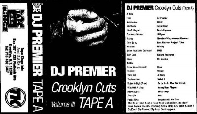 DJ Premier – Crooklyn Cuts Volume III: Tape A (Cassette) (1996) (FLAC + 320 kbps)