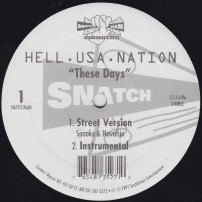 Hell.Usa.Nation - These Days -bw- Stay On Top